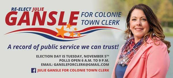town clerk palm card