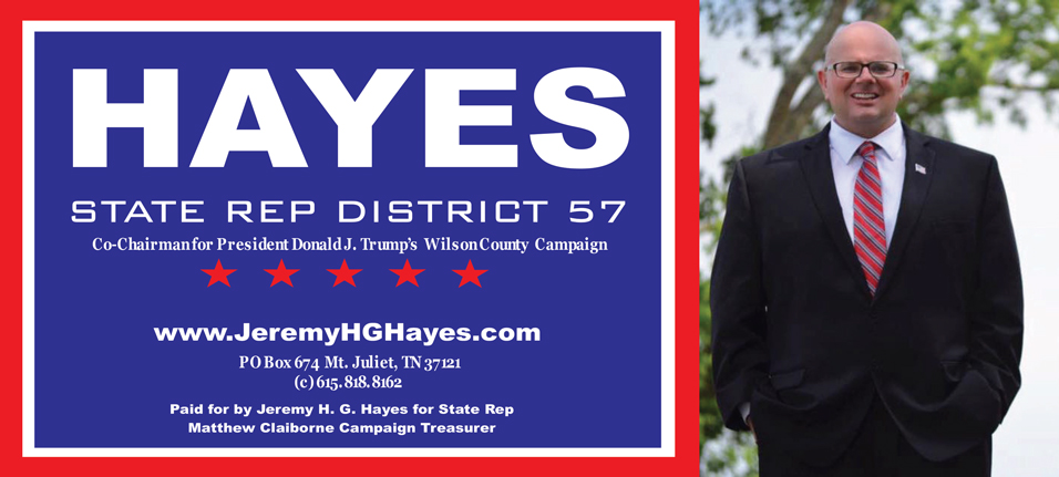 State Rep Palm Card Horizontal layout