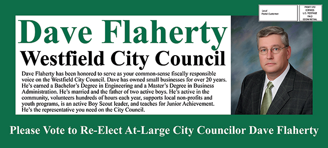 push card city council candidate