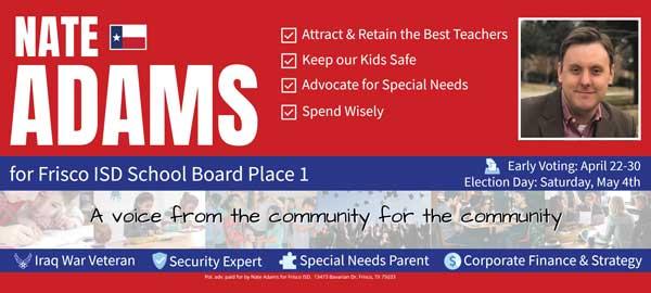 school board political push card